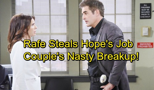 Days of Our Lives Spoilers: Hope Demoted Over JJ Drama, Rafe Steals Job – Jealousy and Rage Spark Brutal Breakup