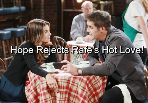 Days of Our Lives (DOOL) Spoilers: Rafe Stuns Hope with '80s Throwback – Hope Changes Her Mind During Hot Love Session