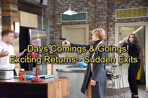 Days of Our Lives Spoilers: Comings and Goings – Exciting Return and Sudden Exits – Daytime Emmy Updates