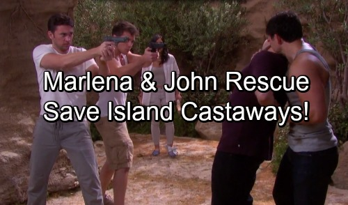 Days of Our Lives Spoilers: John and Marlena's Rescue Mission Pays Off – Castaways Saved When Help Finally Arrives