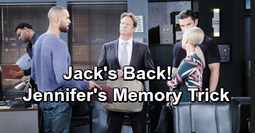 Days of Our Lives Spoilers: The Real Jack Is Almost Back – Jennifer Reveals Surprising Memory Strategy