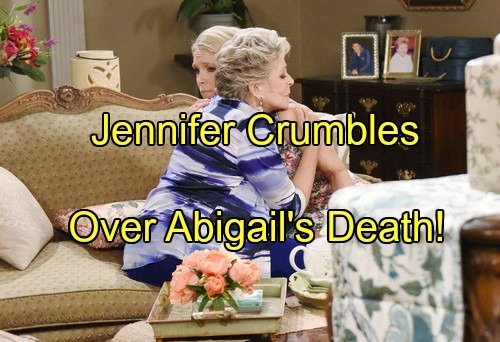 'Days of Our Lives' Spoilers: Jennifer Crumbles Over Abigail's Death and Thomas Custody – Jack Consoles Jen in Heartfelt Fantasy