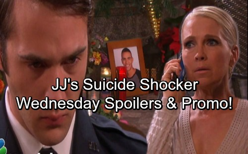 Days of Our Lives Spoilers: Wednesday, December 20 – Jack Stops JJ's Suicide Attempt in Special DOOL Episode