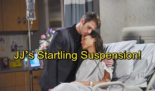 Days of Our Lives Spoilers: JJ's Startling Suspension – Career Takes a Hit After Bold Move for Theresa
