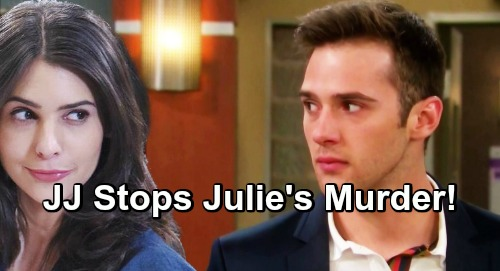 Days of Our Lives Spoilers: Gabi Plans to Smother Julie, Prevent Paternity Secret Spillage – JJ Stops Murder in a Shocking Way