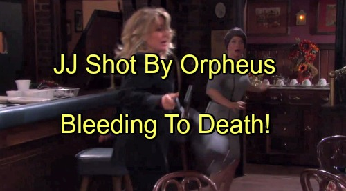 Days of Our Lives Spoilers: JJ Shot During Orpheus Faceoff, Bleeding to Death – Gabi Fears for Beau's Life, Marlena Pitches In