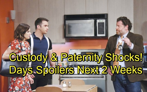 Days of Our Lives Spoilers Next 2 Weeks: Gabi Spills Abigail's Baby Secret – Theresa Leaves Town with Tate – JJ's Huge Sacrifice