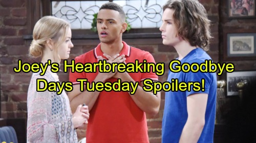 Days of Our Lives Spoilers: Tuesday, August 22 - Joey's Heartbreaking Goodbye, Final Airdate - Shocking Twist in Abe's Case