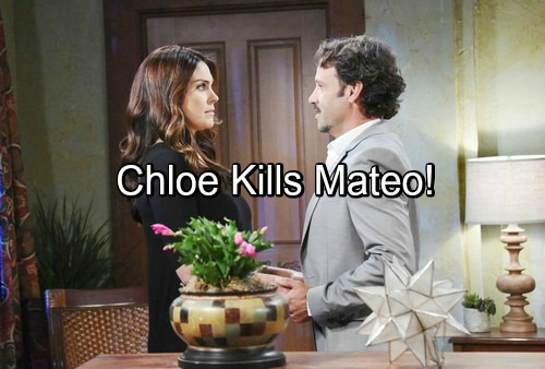 Days of Our Lives Spoilers: Chloe Kills Mateo, Flees Mexico with John and Paul – Evil Drug Lord Finally Goes Down