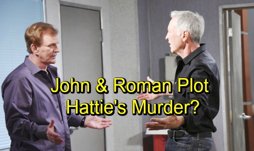 Days of Our Lives Spoilers: Hattie's Worst Fears Haunt Her in Ghastly Nightmare, John and Roman Plot Her Murder
