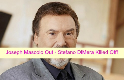 Days of Our Lives Spoilers: Joseph Mascolo Out at DOOL, Stefano DiMera Killed Off?