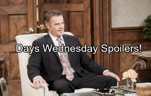 Days of Our Lives Spoilers: Bonnie's Wild Fantasy – Steve and Kayla's Shocking News – Andre Takes Action – Marlena Consoles Sami