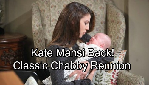 Days of Our Lives Spoilers: Chad and Abigail Fight to Repair Damaged Relationship - Kate Mansi Back for Classic 'Chabby' Reunion