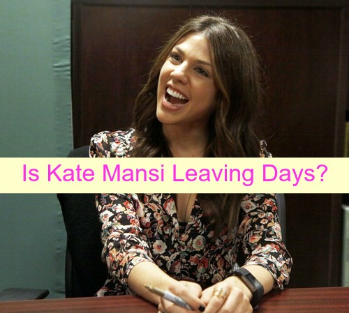 Days of Our Lives Spoilers: Is Kate Mansi Exiting Role of Abigail - Popular DOOL Star Leaving?