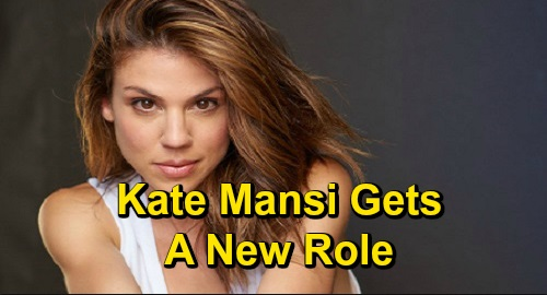 Days of Our Lives Spoilers: Kate Mansi's New Role - Directs Episode of DOOL