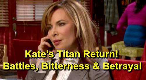 Days of Our Lives Spoilers: Kate's Titan Return Brings Family Battle and Stefan Takedown Shocker
