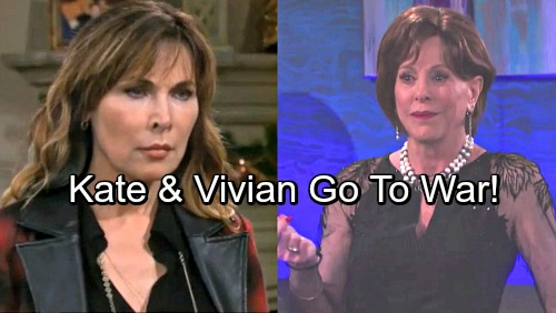 Days of Our Lives Spoilers: Vivian and Kate Go to War – Vicious Rivals Spar Over Sabotage, Stefan and the DiMera Empire