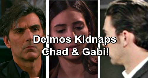 Days of Our Lives Spoilers: Deimos Pulls Gun on Gabi, Vows to Shoot If Chad Doesn't Cooperate – Dario Survives Brutal Attack