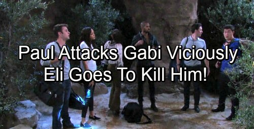 Days of Our Lives Spoilers: Paul Gets Mystery Illness, Smashes Gabi's Head With Rock – Eli Insists Paul Must Die, Pulls Gun