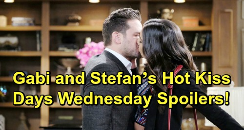 Days of Our Lives Spoilers: Wednesday, March 27 – Will Hospitalized with Mystery Illness – Gabi and Stefan's Hot Kiss