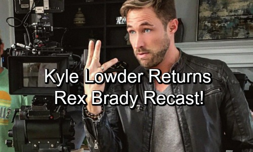 Days of Our Lives Spoilers: Kyle Lowder Back in a Shocking Role – Rex Brady Recast Hits Salem