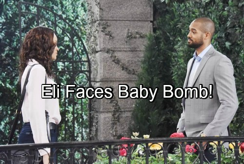 Days of Our Lives Spoilers: Eli Faces Baby Bomb, Valerie Reveals Lani's Pregnant