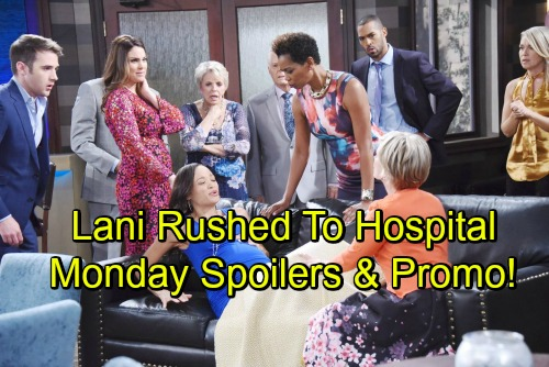 Days of Our Lives Spoilers: Monday, June 18 – Lani Rushed to the Hospital, Emergency C-Section – Weekly Video Promo