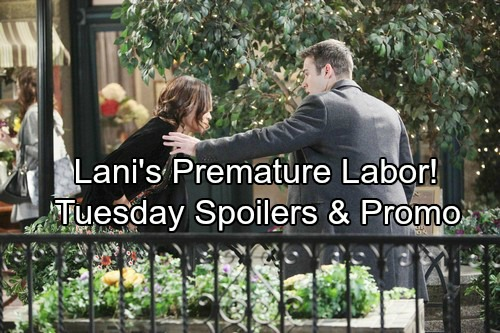 Days of Our Lives Spoilers: Tuesday, March 6 – Lani's Medical Crisis Threatens Baby – Brady's Marriage Maneuver