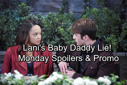 Days of Our Lives Spoilers: Monday, January 15 - Lani Pretends Baby Is JJ's – Gabi and Eli Make Love