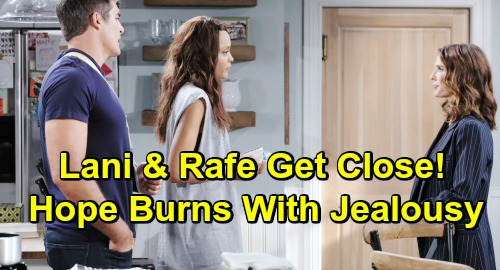 Days of Our Lives Spoilers: Hope Burns With Jealousy - Rafe & Lani Get Much Closer, Bond Over Baby David
