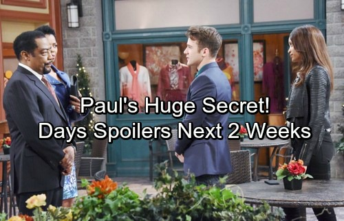 Days of Our Lives Spoilers for Next 2 Weeks: Tragic Shooting Rocks Salem – Brady Plots Eve's Takedown – Paul Has a Huge Secret