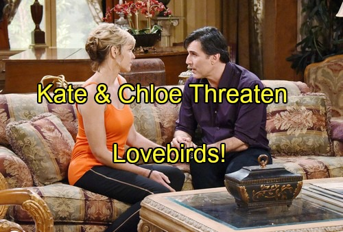 Days of Our Lives Spoilers: Nicole Loves Deimos But Kate's Fierce Showdown and Chloe's Pregnancy Threaten Lovebirds