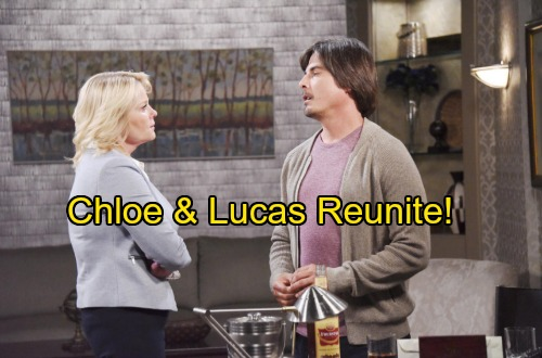 Days of Our Lives Spoilers: Chloe Mends Lucas' Broken Heart – Former Flames Reunite As Will Returns To Salem