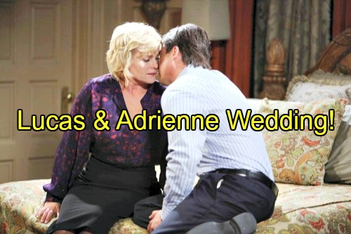 'Days of Our Lives' Spoilers: Lucas Proposes Marriage, Adrienne Preps for Fall Wedding – Sonny Disapproves