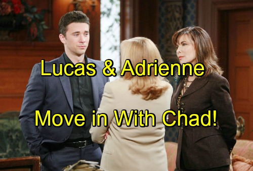 'Days of Our Lives' Spoilers: Chad Struggles With Giving Up Thomas, Lucas and Adrienne Move In - Sonny Lends a Hand