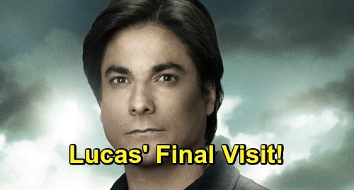 Days of Our Lives Spoilers: Lucas Returns For Emotional Goodbye To Family, Chloe - Leaves Salem For Europe