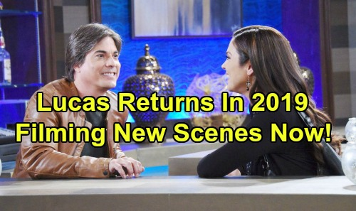 Days of Our Lives Spoilers: Brian Dattilo Back Filming For Exciting Lucas Horton 2019 Return