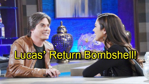 Days of Our Lives Spoilers: Chloe Faces Lucas' Bombshell – Huge News Brings Relationship Drama, Wraps Up Lucas' DOOL Run