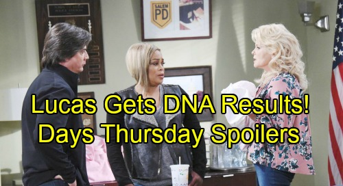 Days of Our Lives Spoilers: Thursday, September 20 – Chad's Horrifying Discovery – Lucas' DNA Results Shocker – Abe Blasts Sheila