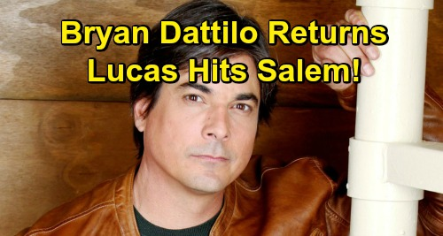 Days of Our Lives Spoilers: Bryan Dattilo Reveals When Lucas Hits Salem Again – Worried Dad Returns with Sami to Support Will
