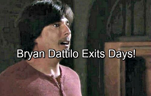 Days of Our Lives Spoilers: Lucas Out at DOOL – Bryan Dattilo Reveals Shocking Exit