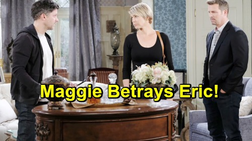 Days of Our Lives Spoilers: Maggie Sabotages Ericole with a Revelation About Brady – Fuels Nicole's Hatred of Eric