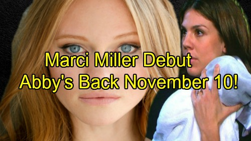 Days of Our Lives Spoilers: New Abigail Marci Miller Debuts November 10 – Secrets Swirl as Abby Hides Out in Salem