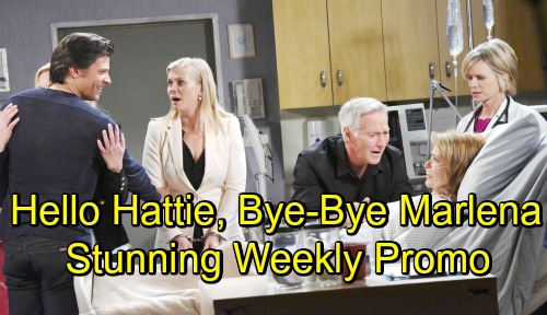 Days of Our Lives Spoilers: Hot Promo Week of September 17-21 – Hattie Takes Over Marlena's Life, Belle and Sami Face Her Wrath