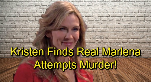 Days of Our Lives Spoilers: Kristen Finds The Real Marlena – Kayla and Roman Thwart Deadly Attack