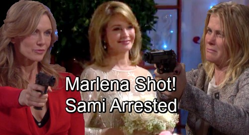 Days of Our Lives Spoilers: Marlena Shot At Wedding - Rafe Arrests Sami
