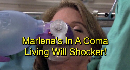Days of Our Lives Spoilers: Marlena's In A Coma - Living Will Causes Life and Death Battle Between John and Belle