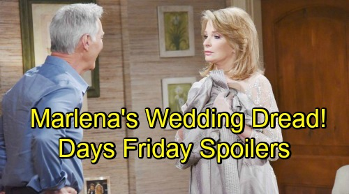 Days of Our Lives Spoilers: Friday, August 10 – Gabi Targets Chad's Broken Heart – Ciara Challenges Ben – Marlena's Wedding Dread