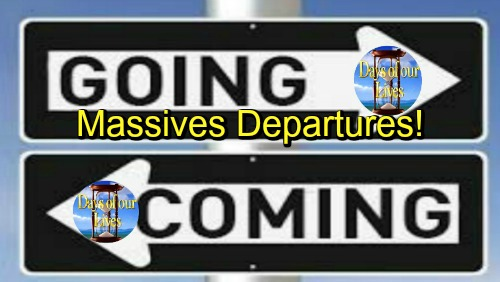 Days of Our Lives Spoilers: Flood of DOOL Exits – See Who's Leaving Salem Next - Comings and Goings