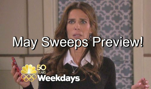 Days of Our Lives (DOOL) Spoilers: May Sweeps Preview - Shockers, Danger, Death and More – Check Out the Hot Plots